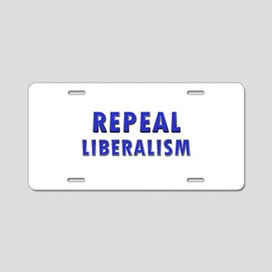 Repeal 2 Blue Aluminum License Plate
