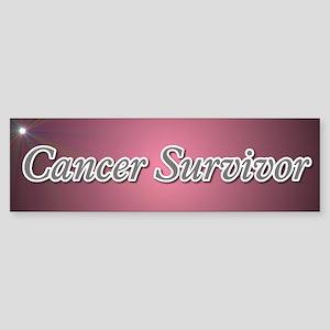 Cancer Survivor Bumper Sticker