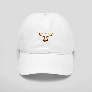 Flaming Crow Cap
