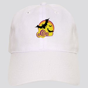 Bats Halloween Cap