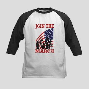 Occupy Wall Street Kids Baseball Jersey