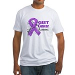 GIST Cancer Awareness Fitted T-Shirt