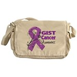 GIST Cancer Awareness Messenger Bag