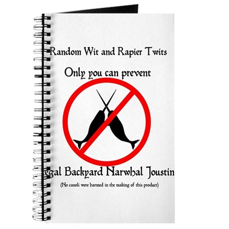 Narwhal Jousting Journal