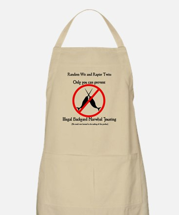 Narwhal Jousting Apron