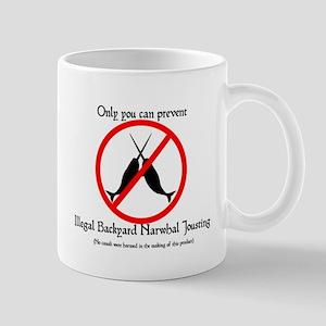 Narwhal Jousting Mug