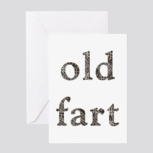 Old Fart Items Greeting Card