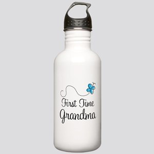 First Time Grandma Stainless Water Bottle 1.0L