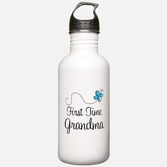 First Time Grandma Water Bottle