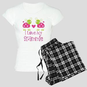 I Love Grammie Ladybug Women's Light Pajamas