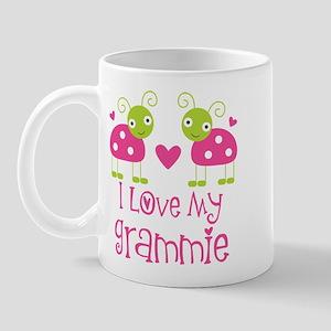 I Love Grammie Ladybug Mug