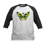 Jamaica Butterfly Kids Baseball Jersey