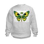 Jamaica Butterfly Kids Sweatshirt