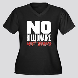 No Billionaire Left Behind Occupy Women's Plus Siz