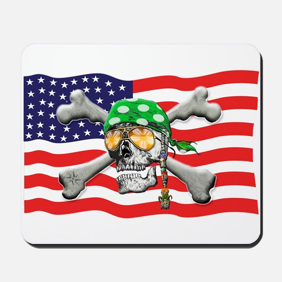 Irish American Pirate Mousepad