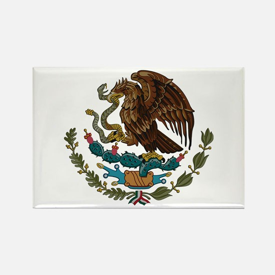 Mexican Coat of Arms Rectangle Magnet