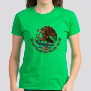 Mexican Coat of Arms Women's Dark T-Shirt