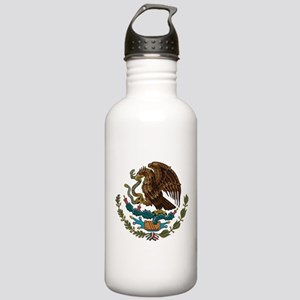 Mexican Coat of Arms Stainless Water Bottle 1.0L