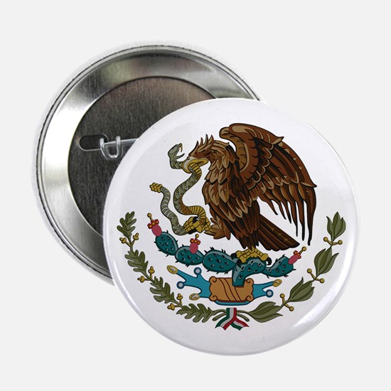 "Mexican Coat of Arms 2.25"" Button"