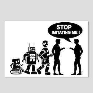 Robot evolution Postcards (Package of 8)