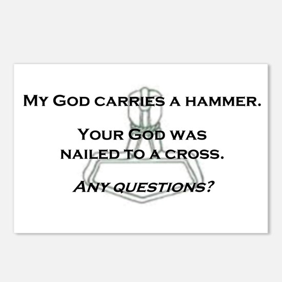 Hammer Postcards (Package of 8)