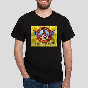 Wisconsin Beer Label 16 Dark T-Shirt