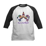 Soy to the World Kids Baseball Jersey