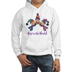 Soy to the World Hooded Sweatshirt