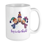 Soy to the World Large Mug