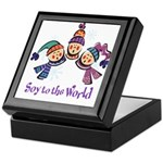 Soy to the World Keepsake Box