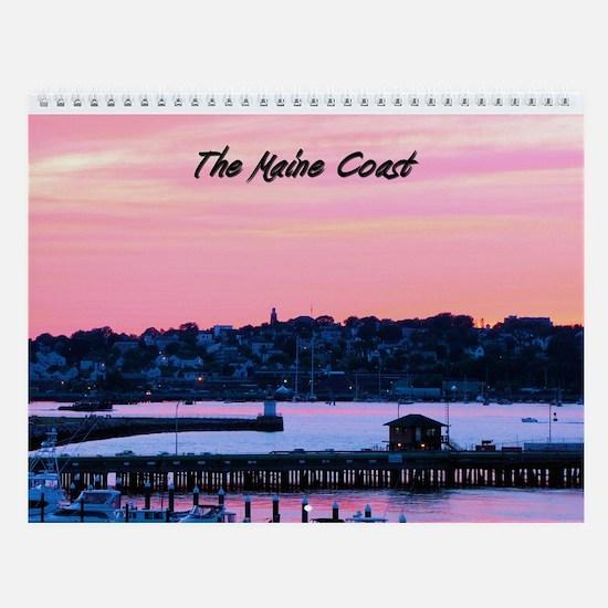 The Maine Coast Scenic Wall Calendar