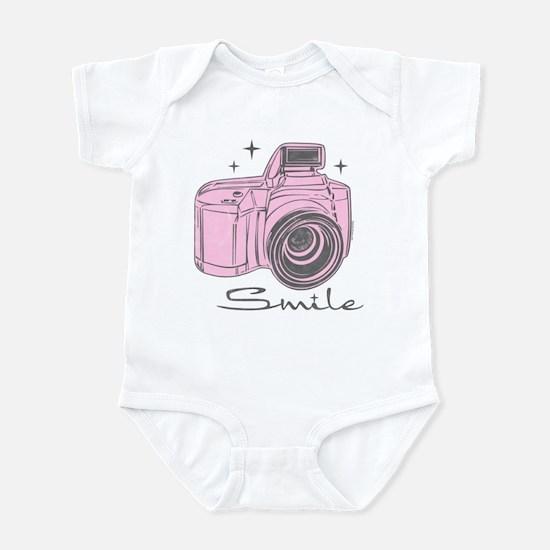 Camera Smile Infant Bodysuit