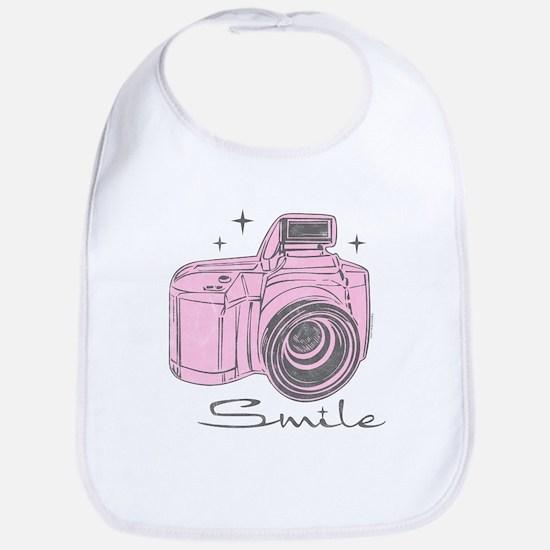 Camera Smile Bib