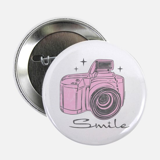 """Camera Smile 2.25"""" Button (10 pack)"""