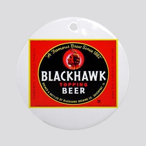 Iowa Beer Label 1 Ornament (Round)