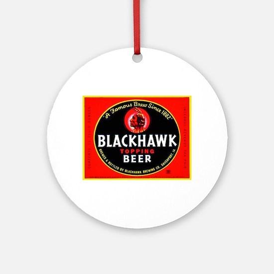 Iowa Beer Label 1 Ornament (Round)