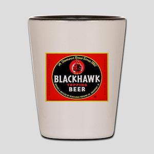 Iowa Beer Label 1 Shot Glass