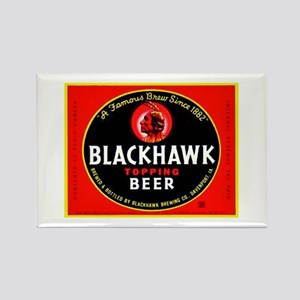 Iowa Beer Label 1 Rectangle Magnet