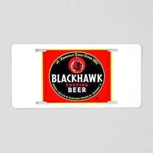 Iowa Beer Label 1 Aluminum License Plate