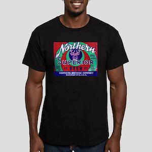 Wisconsin Beer Label 13 Men's Fitted T-Shirt (dark