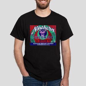 Wisconsin Beer Label 13 Dark T-Shirt