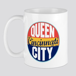 Cincinnati Vintage Label Mug