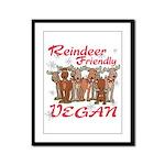 Vegan Holiday Framed Panel Print