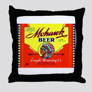 California Beer Label 6 Throw Pillow