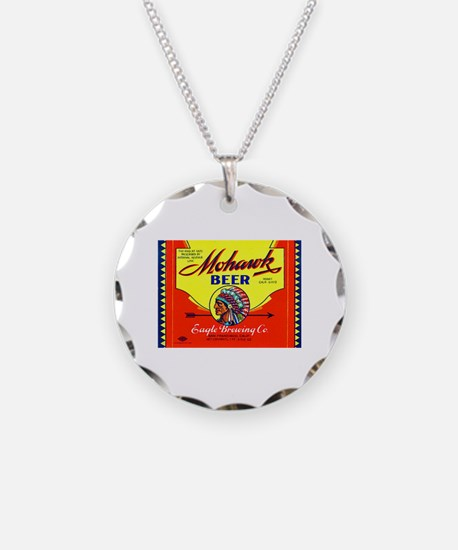California Beer Label 6 Necklace
