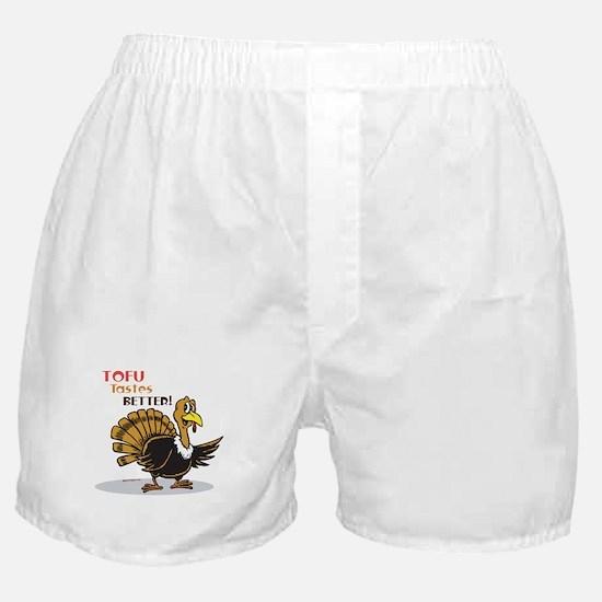 Tofu Not Turkey Boxer Shorts