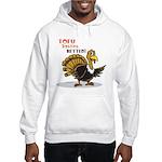 Tofu Not Turkey Hooded Sweatshirt
