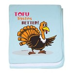 Tofu Not Turkey baby blanket
