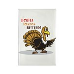 Tofu Not Turkey Rectangle Magnet (100 pack)