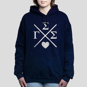 Gamma Sigma Sigma Cross Women's Hooded Sweatshirt